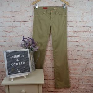 AG The Dietrich Green Khaki Pants Size 26 B4